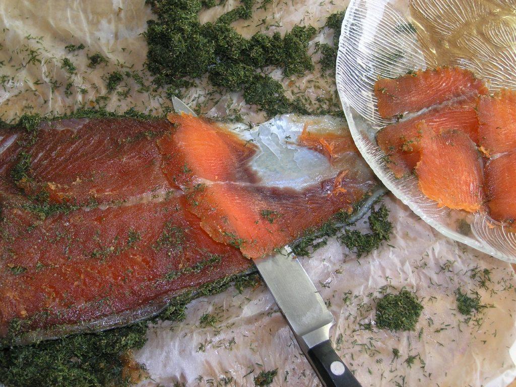 gravlax fish
